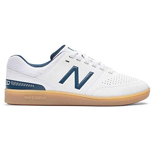 New Balance JSASIWN4, Football Shoe Boys, Blanco