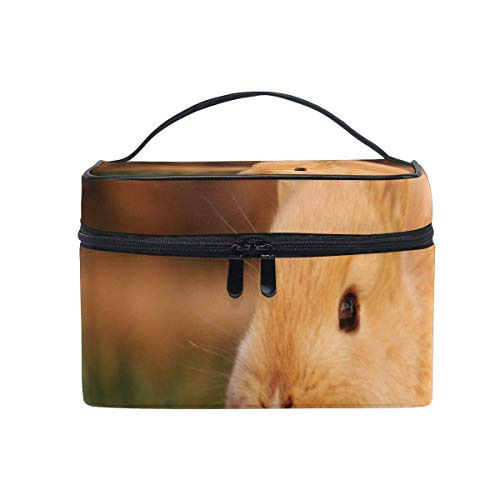 Trousse de maquillage Cute Bunny Cosmetic Bag Portable Large Toiletry Bag for Women/Girls Travel