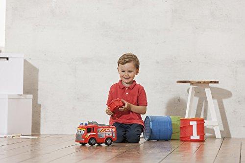 RC Auto kaufen Feuerwehr Bild 2: Dickie Toys 203814031 - RC Happy Scania Fire Engine, funkferngesteuertes Feuerwehrauto, für Kleinkinder ab 2 Jahren, 27 cm*