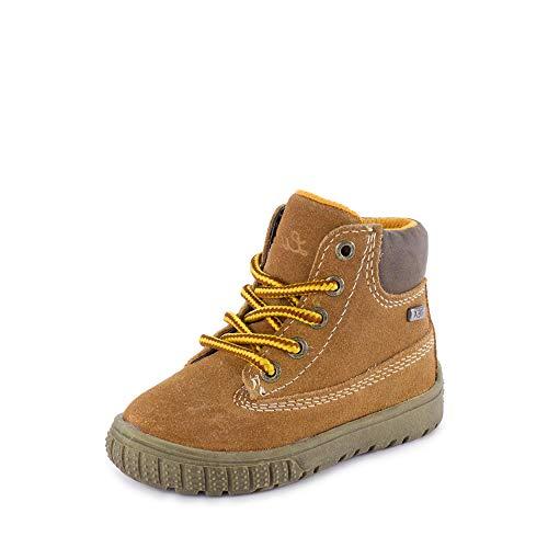Lurchi Baby Jungen Johann-TEX Sneaker Braun (Tan 27) 22 EU
