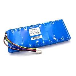 vhbw NiMH Batterie 6000mAh (12V) pour Tondeuse à Gazon Robot comme Husqvarna 535 06 36-01, 535 09 62-01, 5350636-01, 535063601, 5350962-01, 535096201