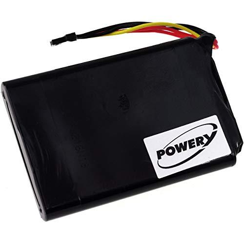 Powery Batería para GPS-Navegador Tomtom Go 6100