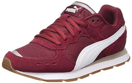 PUMA Unisex Vista Jr Sneaker, Cordovan White, 39 EU