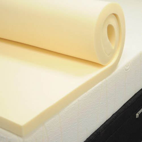 Memory Foam Mattress Topper, Caravan, Camping etc. 72' x 28' x 2'
