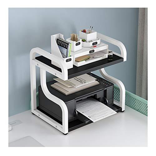 YCSX Soporte de Impresora Móvil Clip máquina Organizador y administración de Cables, Soporte de Escritorio for la Impresora, Organizador de Escritorio for el hogar y Oficina Diseño Contemporáneo