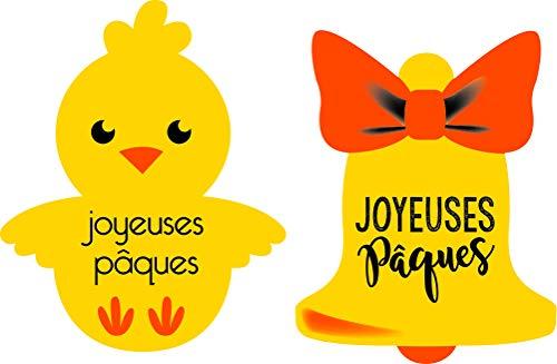Le Petit Mitron Assortiment Azyme joyeuses paques/24