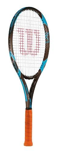 Wilson Tennis - Raqueta de Tenis para Hombre, tamaño L4, Color Azul/Negro