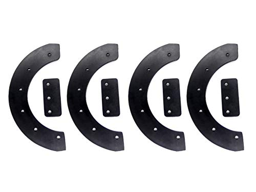Hakatop Snowblower Rubber Paddles Set for Snowthrower 20' 21' 22' Craftsman 302565ma,57121MA,1687312sm