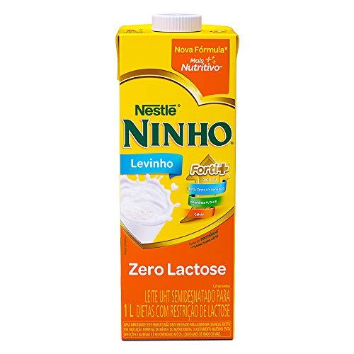 Leite Semidesnatado Ninho Zero Lactose 1L