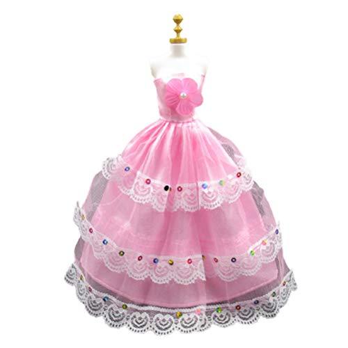 Guillala Ropa de muñeca Vestidos Exquisito Vestido de Boda Vestidos de Fiesta...