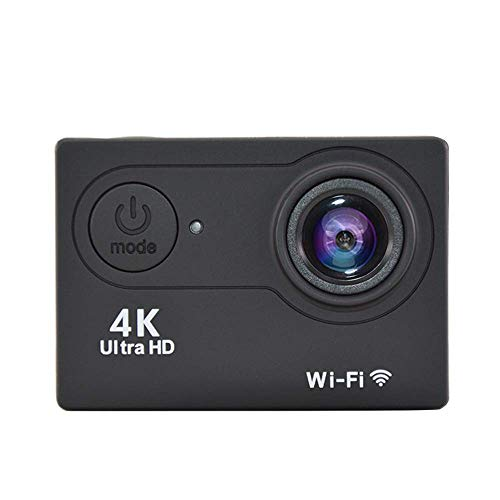 XRQ 4K Sportkamera Dv Sportkamera All-In-One V3 1080P WiFi wasserdichte Outdoor-Mini-Recorder, Schwarz,Schwarz