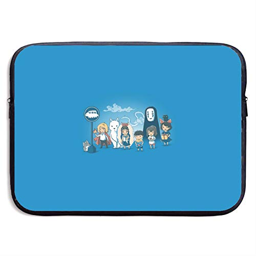 Totoro Laptop Sleeve Bag Tablet Fashion Briefcase Ultra Portable Protective Cover MacBook Air MacBook Pro Notebook Computer Sleeve Case 13 inch