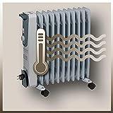 Einhell Ölradiator MR 1125/2 (bis 2500 Watt, 3 Heizstufen, stufenloser Thermostatregler, fahrbar, Kipp- und Überhitzungsschutz, Betriebsanzeige) - 5