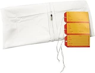 PDC Healthcare 55700-00-MBC 5 mil Vinyl Straight Zipper Adult Cadaver Bag, 3 I.D. Tags, 36