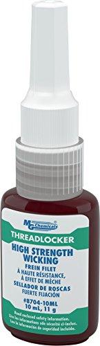 MG Chemicals - 8704-10ML High Strength Wicking Permanent Threadlocker Adhesive, 10 ml Bottle
