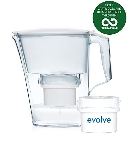 Paquete de 1 mes Aqua Optima - Jarra de filtro de agua Liscia con 1x cartucho de filtro de agua de 30 días