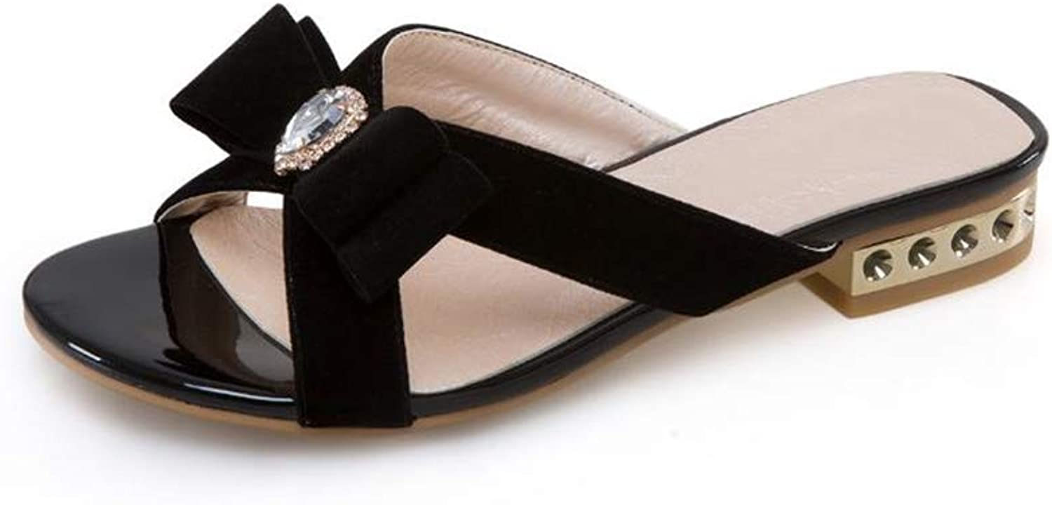 Womens Open Toe Cut Out Mules Fashion Heel Sandal Cross Strap