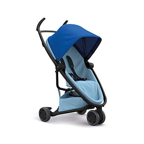 Quinny Zapp Flex, passeggino per bambini reversibile fronte retro, pieghevole, reclinabile, 3 ruote, colore Blu Azzurro