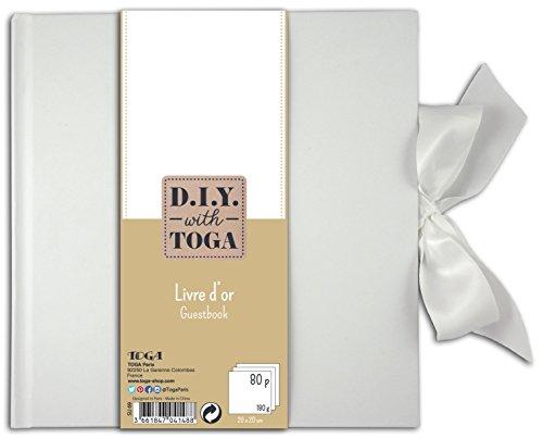 D.I.Y with Toga SU69 Livre d'Or Papier Blanc 20 x 1.5 cm