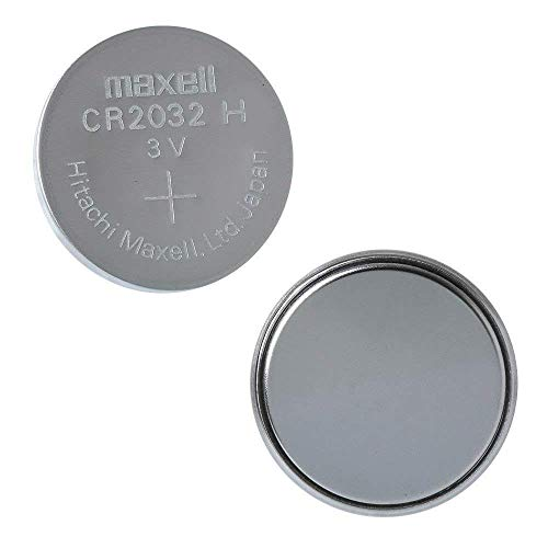 Maxell CR2032 Lithium 3 V Non-Rechargeable Battery – Non-Rechargeable Batteries (Lithium, 3 V, 220 mAh, Silver, 20 mm, 3,2 mm)