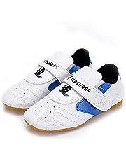 RDJSHOP Zapatos de Taekwondo Zapatos de Kung Fu de Artes Marciales Unisex Zapatillas con Suela de Goma para Adultos Niños