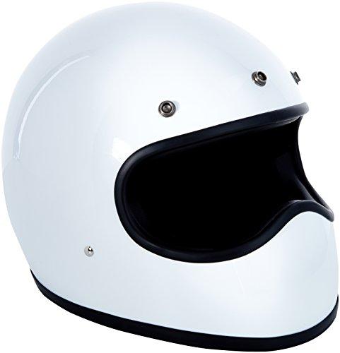 DMD 1FFS10000WH02 Racer Casco Moto, Bianco, S