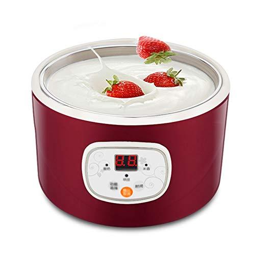 JYDQM Eléctrico automático Fabricante de Yogur multifunción de Acero Inoxidable Leben Recipiente de Natto Vino de arroz máquina de Cuatro Copas de Yogur 1L