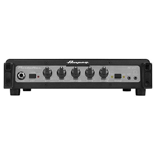 Amplificador bajo Ampeg pf-350 solid state 350w. Cabezal para bajo ultra compacto. 350 W de potencia RMS a 4 Ohm.