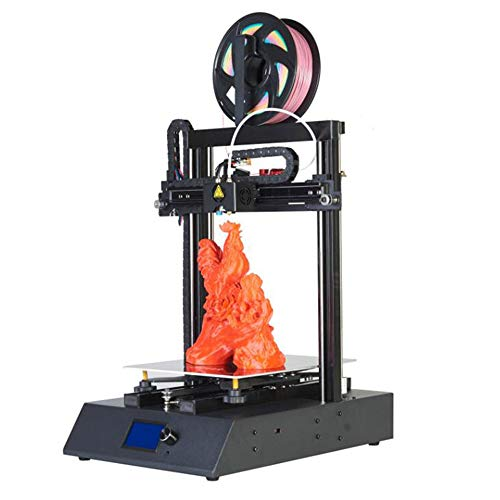 GKD 3D Printer, Aluminum DIY Kit 3D Printers, High-Precision Fast-Assembled 3D Printing Machine for Home, Industry, School and Education