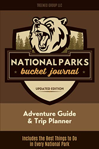 National Parks Bucket Journal: U.S. Outdoor Adventure Log List Guide | Memory Book | Lodges & Trip Planner | America Passport & Stamp