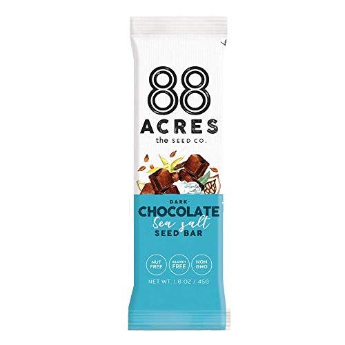 image of 88 Acres Dark Chocolate Sea Salt Seed Bar