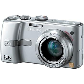 パナソニック デジタルカメラ LUMIX DMC-TZ1-S シルキーシルバー