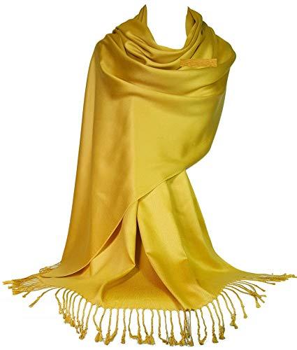 GFM® Ultra Smooth Cashmere Voel Zachte Pashmina Stijl Wrap Sjaal (L9)