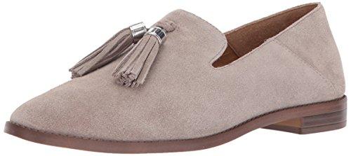 Franco Sarto Womens Hadden Suede Almond Toe Loafers, Cocco, Size 9.0