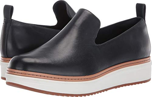 Price comparison product image CLARKS Women's Teadale Genna Navy Leather 7.5 B US