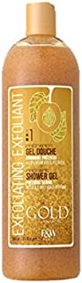 Fair & White Gold Precious Scrub Exfoliating Shower Gel, 31.8 fl. oz. / 940 ml