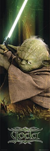 Star Wars Episode III The Revenge of The Sith Langbahnposter mit Yoda + Ü-Poster