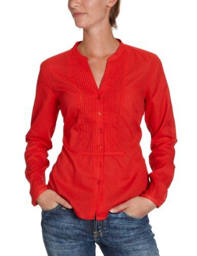 Eddie Bauer Damen Bluse, 21901484, Gr. 32 (XS), Rot (Rot)