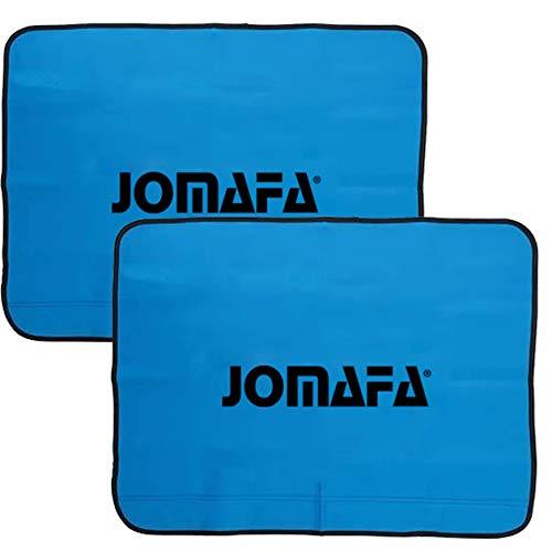 JOMAFA JUEGO 2 PROTECTORES DE PUERTAS MAGNETICOS CUBRE ALETAS 790mm x 590mm