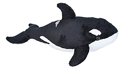 Wild Republic Orca Plush, Stuffed Animal, Plush Toy, Sea Animals, Gifts for Kids, Sea Critters 11 inches by Wild Republic