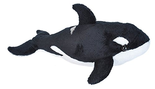 Wild Republic Orca Plush, Stuffed Animal, Plush Toy, Sea Animals, Gifts for Kids, Sea Critters 11 inches
