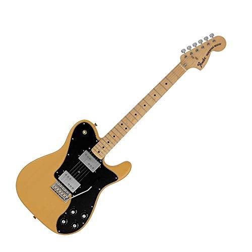 Fender fabricado en Japón Limited Telecaster® Deluxe 70s, con trémolo, mantequilla rubia.