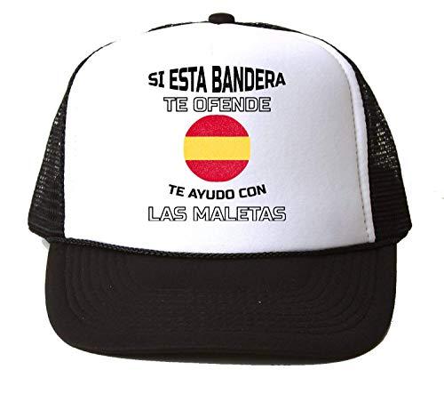KRISSY Si Esta Bandera Te Ofende Te Ayudo con Las Maletas Baseball Cap Hat Gorra Unisex One Size
