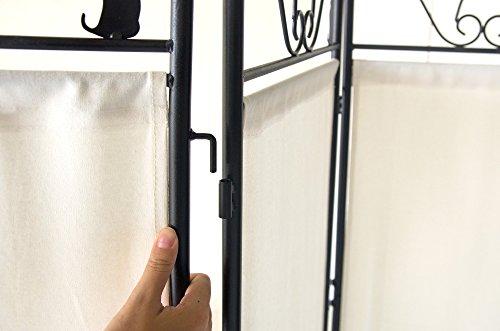 宮武製作所間仕切り猫のパーテーション3連幅40×奥行き2×高さ157cm(一連あたり)ブラック/ホワイト高さ調整可能SK-2828