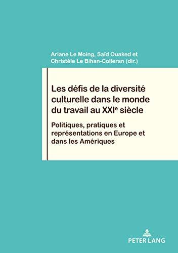 Les défis de la diversité culturelle dans le monde du travail au XXIe siècle: Politiques, pratiques et représentations en Europe et dans les Amériques ... / Work and Society t. 85) (French Edition)