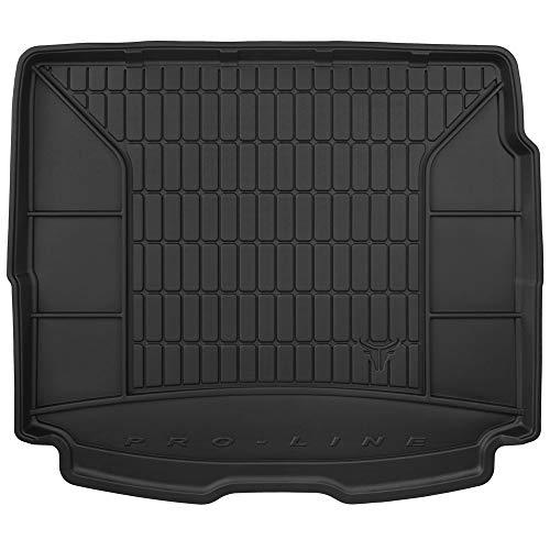 DBS Tapis de Coffre Auto - sur Mesure - Bac de Coffre pour Voiture - Rebords Surélevés - Caoutchouc Haute qualité - Antidérapant - Simple d'entretien - 1766581
