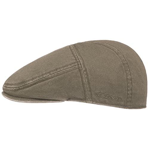 Stetson Paradise Cotton Flat Cap Men Olive 7 1/4-7 3/8
