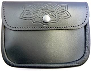 Kilts Wi Hae 100% Leather Large Belt Pouch - Embossed