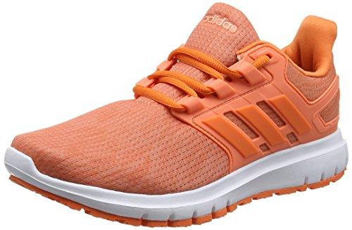 adidas Energy Cloud 2 W, Zapatillas de Entrenamiento Mujer, Naranja (Orchid Tint/Trace Orange/Trace Orange 0), 41 1/3 EU