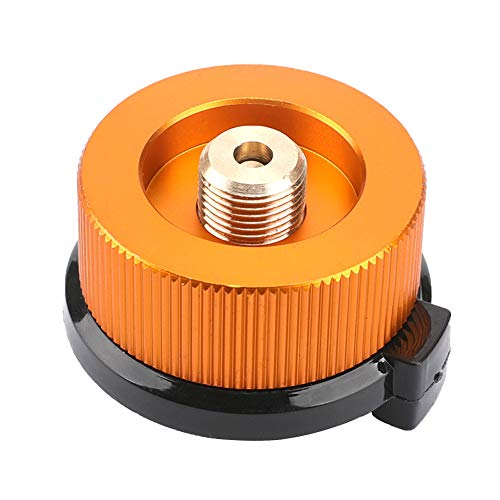 Gcroet Gas Adapter Gasadapter Sicher Durable Campingkocher Adapter Gas Conversion Kopfadapter Für Butan Kanister Schraube Gaskartusche Kolben Adapter